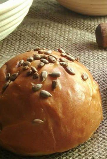 Pão de Abóbora com Semente de Girassol
